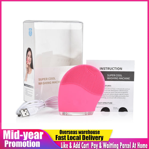 Electric Facial Cleaning Brush Cleanser