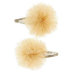 Barrettes frou-frou tulle