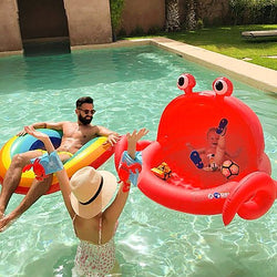 Piscine gonflable Crabe