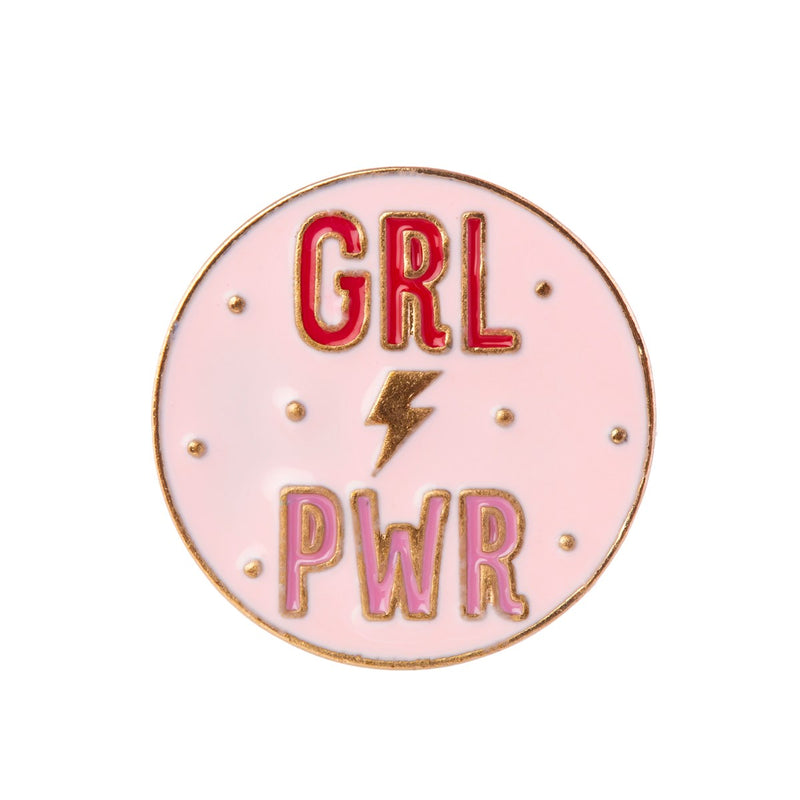 "Pin's ""girl power"""
