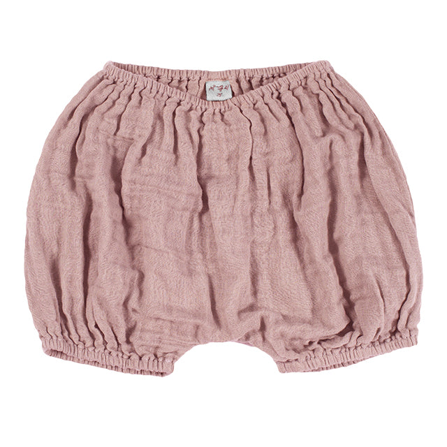 Bloomer Emi Dusty pink en coton bio
