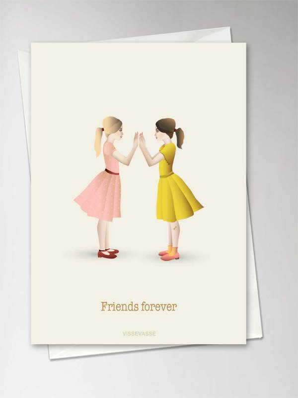 "Carte ""Friends forever"""