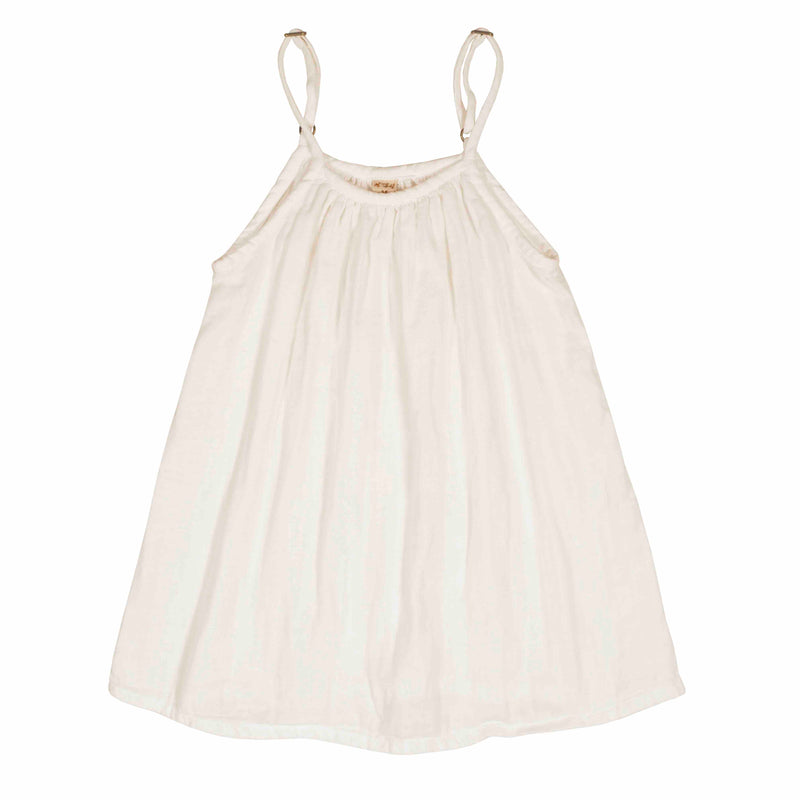 Robe Mia enfant natural en coton bio