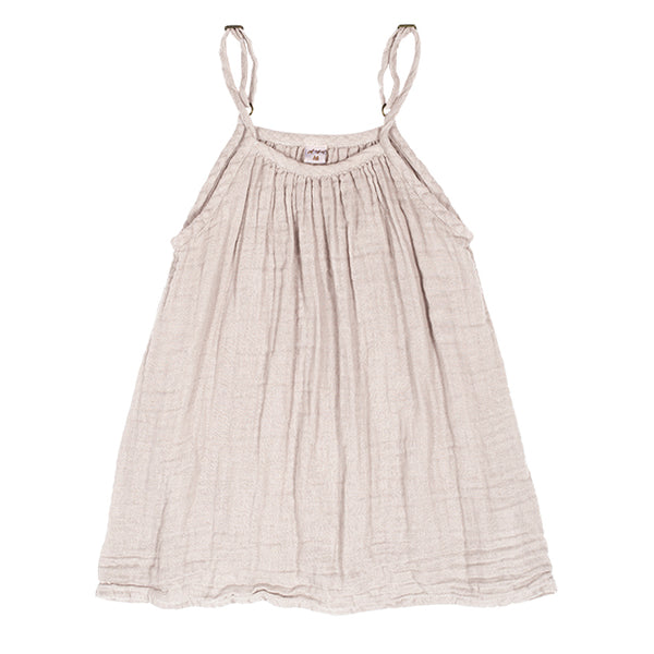 Robe Mia enfant powder en coton bio