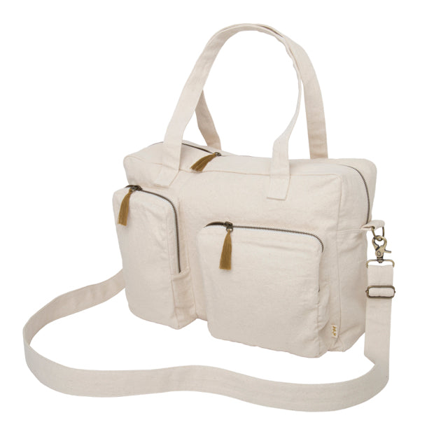 Sac Multi bag écru en coton bio