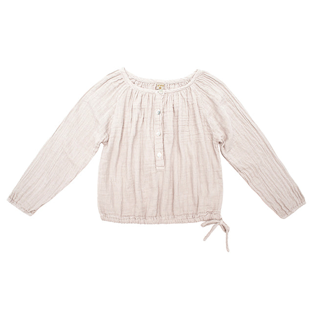 Blouse Naia powder en coton bio