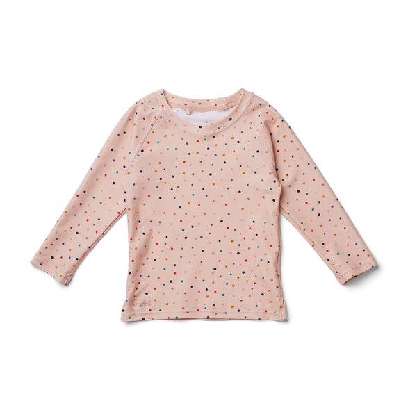 Tee-shirt anti-UV Confetti rose
