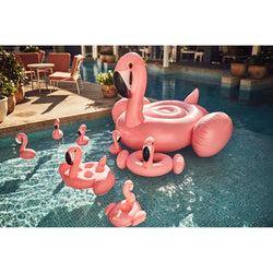 Bar flottant Flamant rose gonflable
