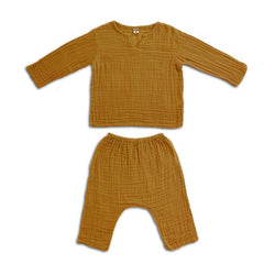 Ensemble Zac gold en coton bio