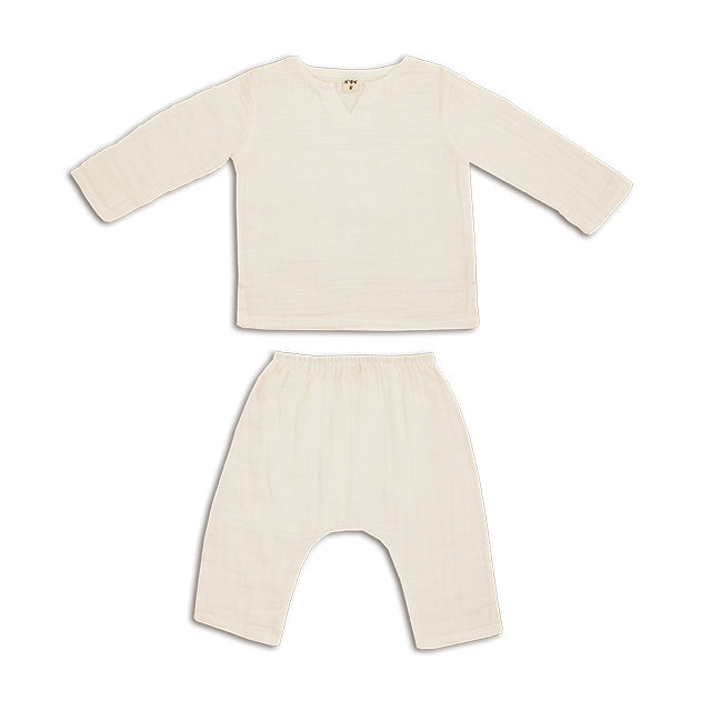 Ensemble Zac Natural en coton bio