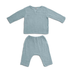 Ensemble Zac sweet blue en coton bio
