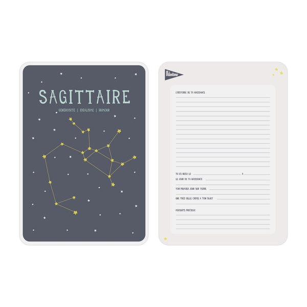 Poster signe zodiacal Sagittaire
