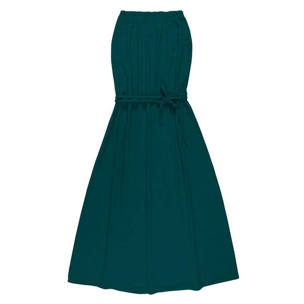Robe longue bustier Sienna Teal blue