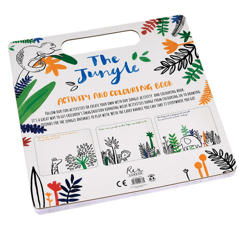 Livre de coloriage Jungle