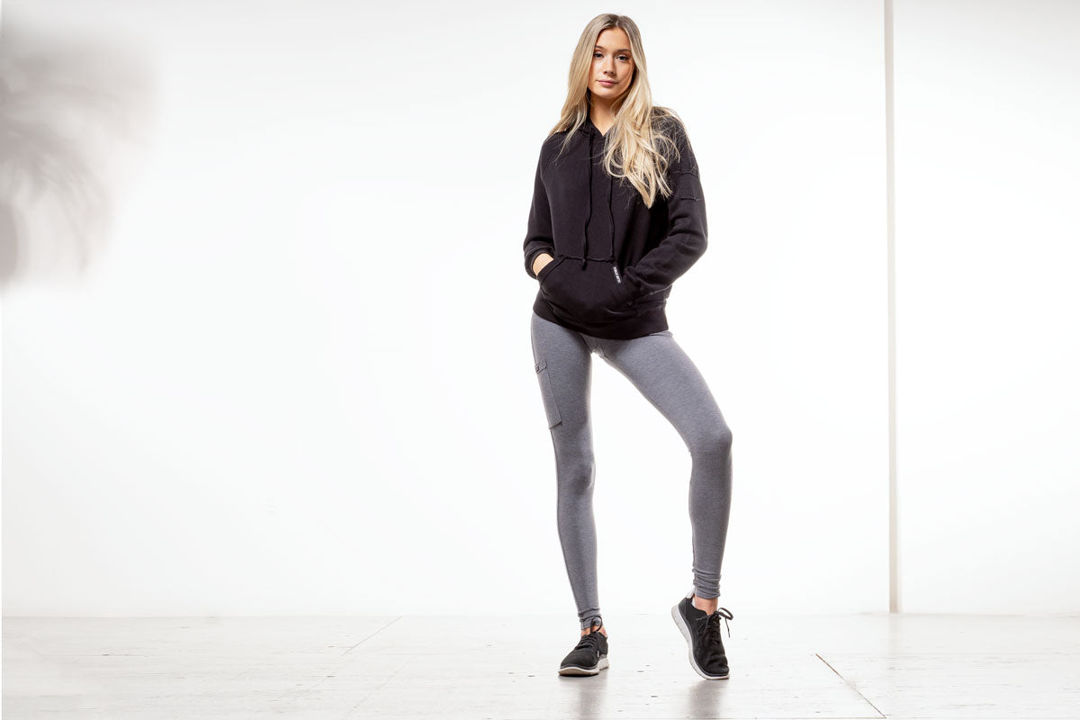 Bamboo leggings and hoodie