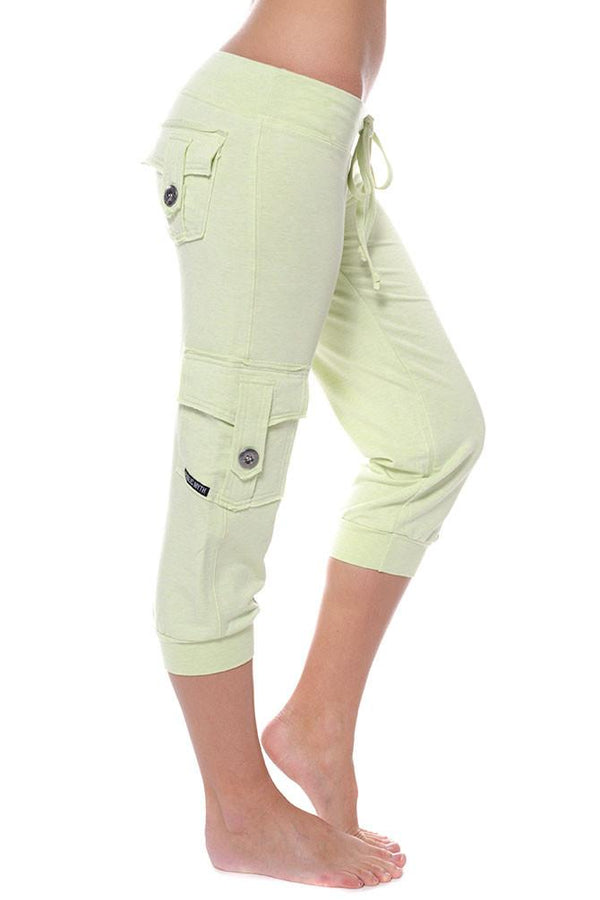 Bamboo Pocket Capris (Sale)