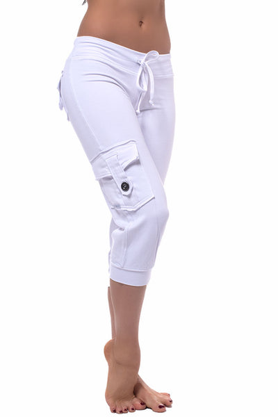 Bamboo Pocket Capri
