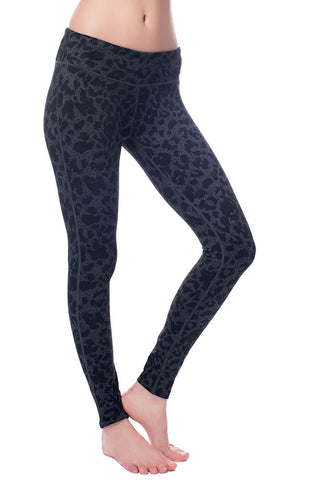 Black Leopard Leggings