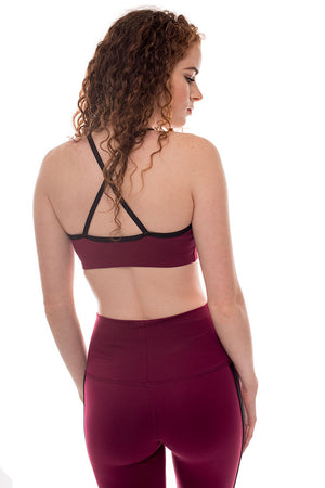 Cross Back Cami Bra
