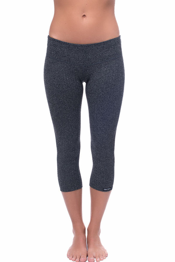Herringbone Crop Leggings