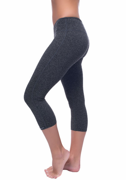Herringbone Crop Legging