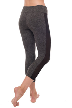 Bring It On Crop Herringbone Leggings