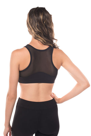 Bring It On Mesh Sports Bra
