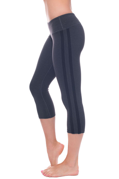 Retro Racer Crop Legging