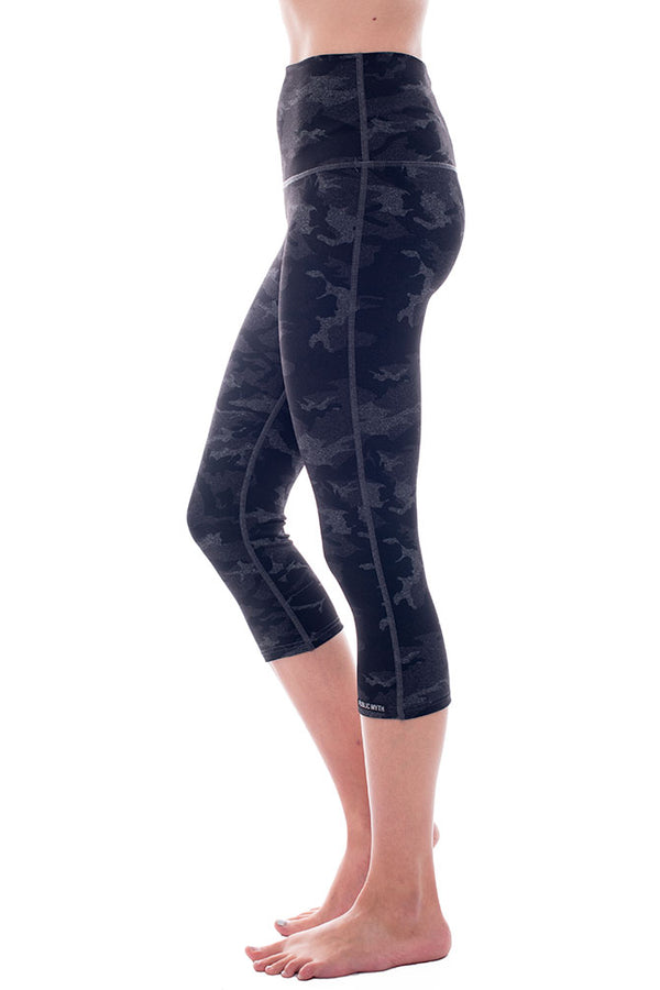 Shadow Trooper High Rise Crop Leggings