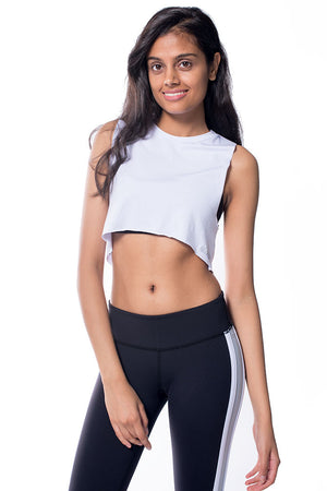 Bamboo Muscle Crop Top