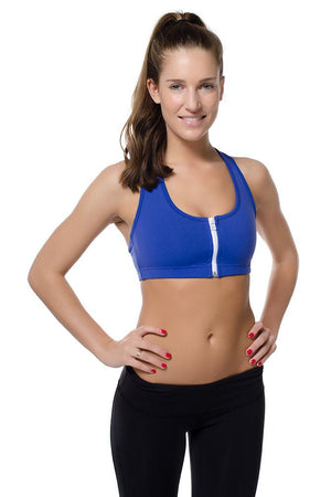 Zip Sports Bra (Sale)