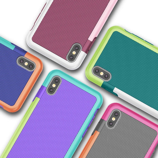 Rubber Matte Shockproof Case