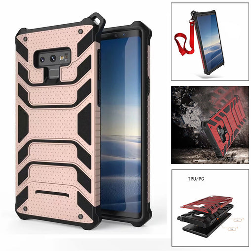 Rugged Soft TPU PC Cover for Samsung Note 9
