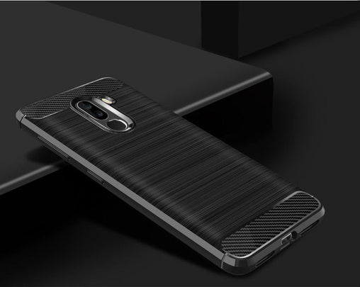Slim Fiber Carbon Cover Case for Pocophone F1