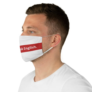 No Speak Mask - English