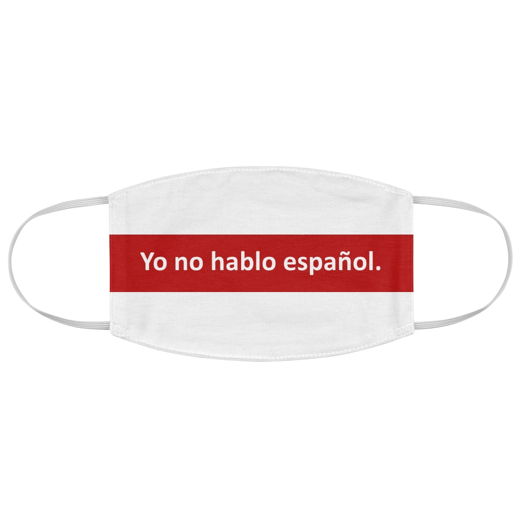No Speak Mask - Espanol