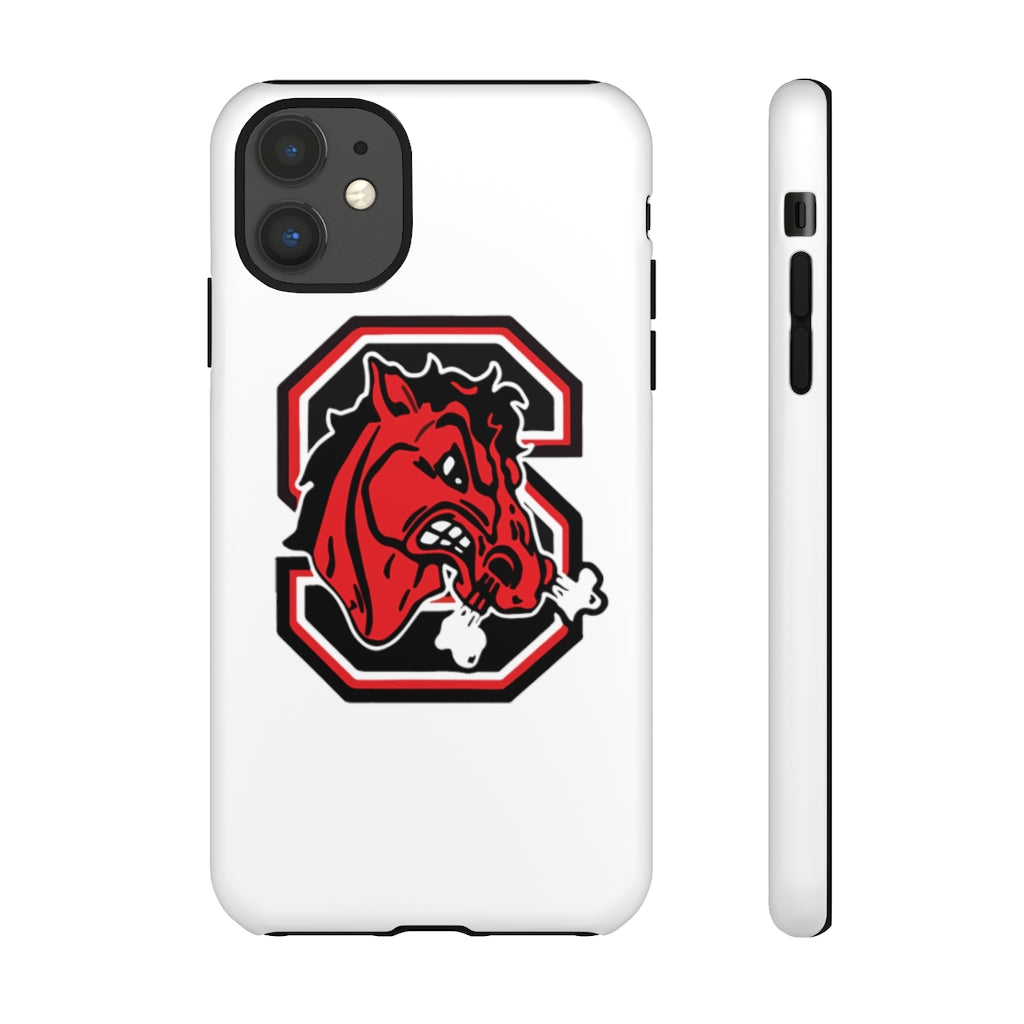 Big Red Phone Case