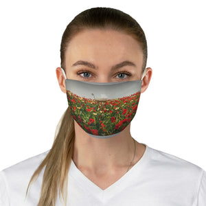 Poppy Face Mask
