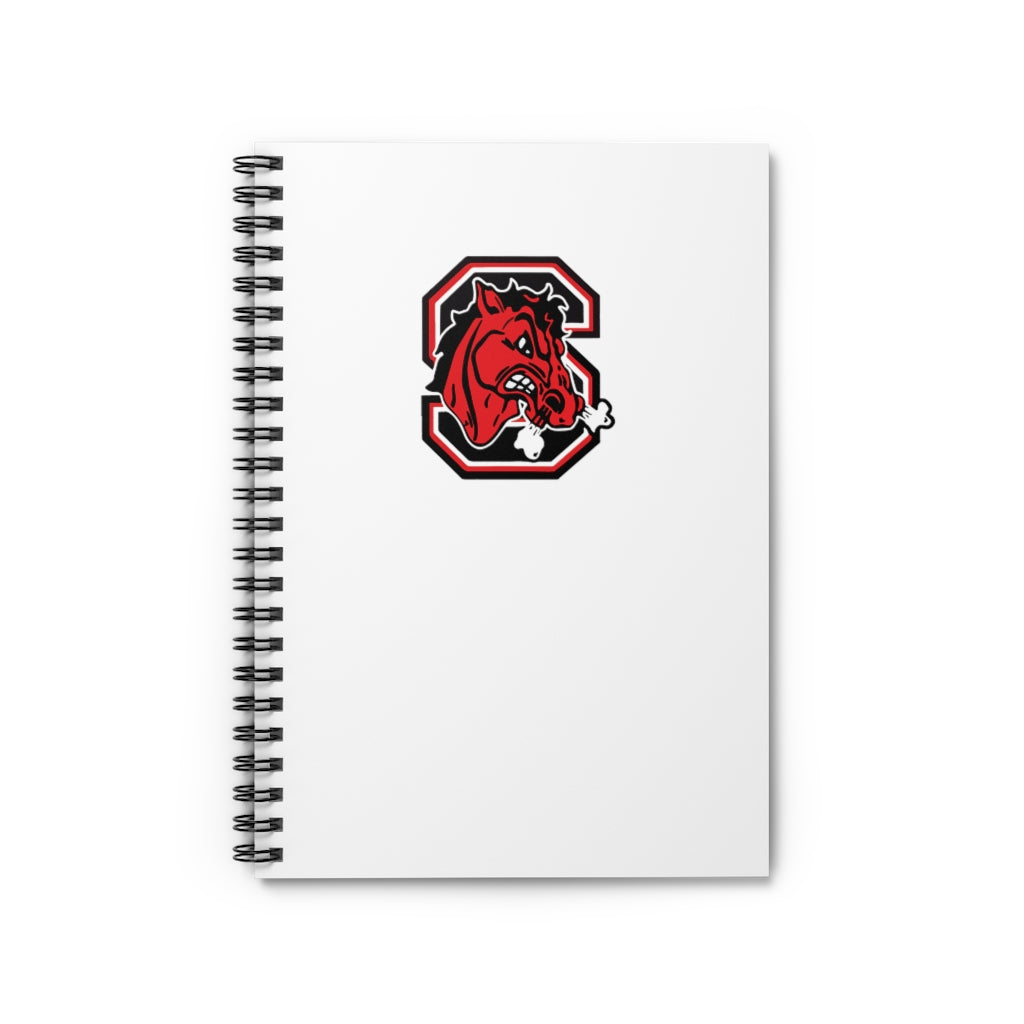 Big Red Spiral Notebook - Ruled Line