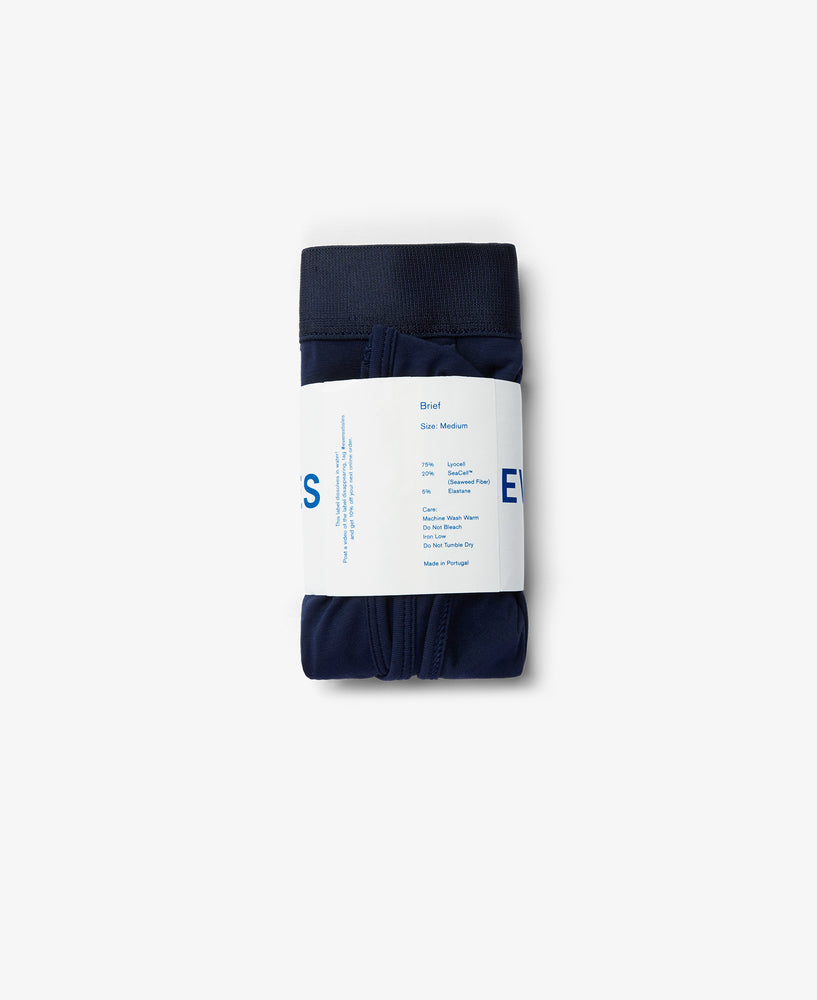 Seaweed Brief Midnight Blue