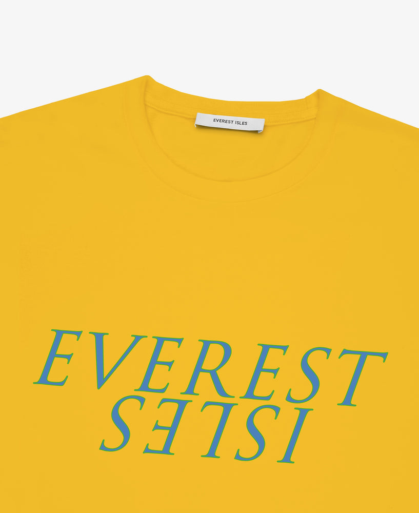 EI Graphic Seaweed Tee  –  Yellow