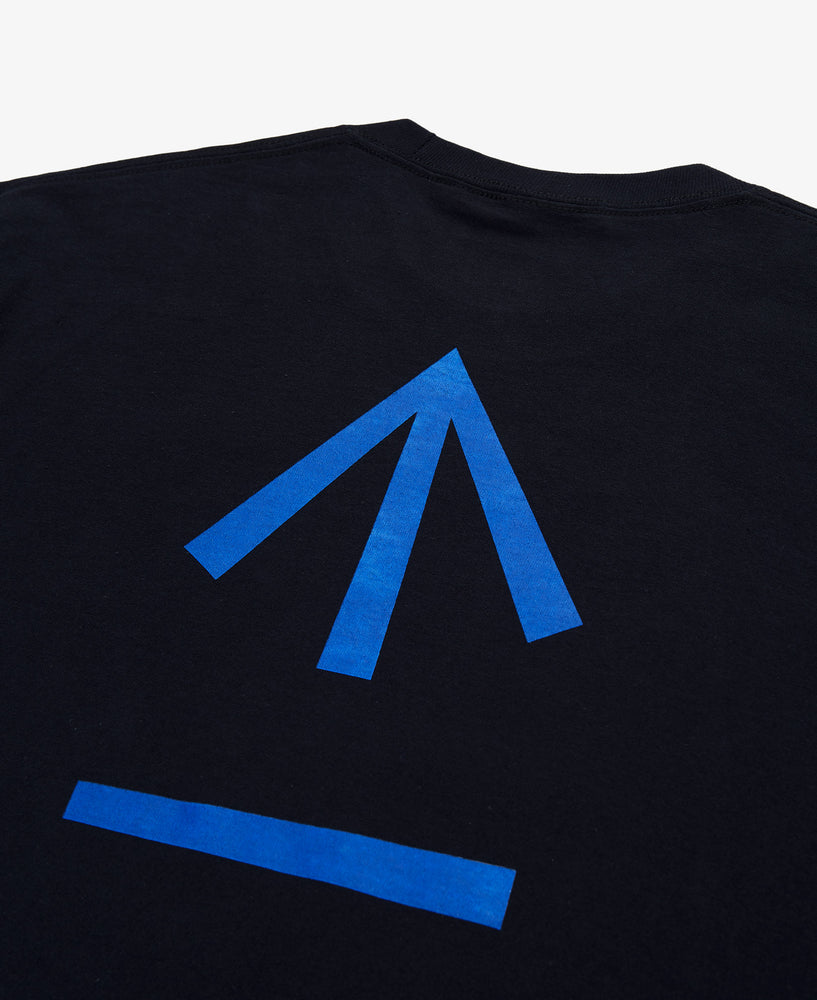 Arrow Graphic LS Tee  – Black