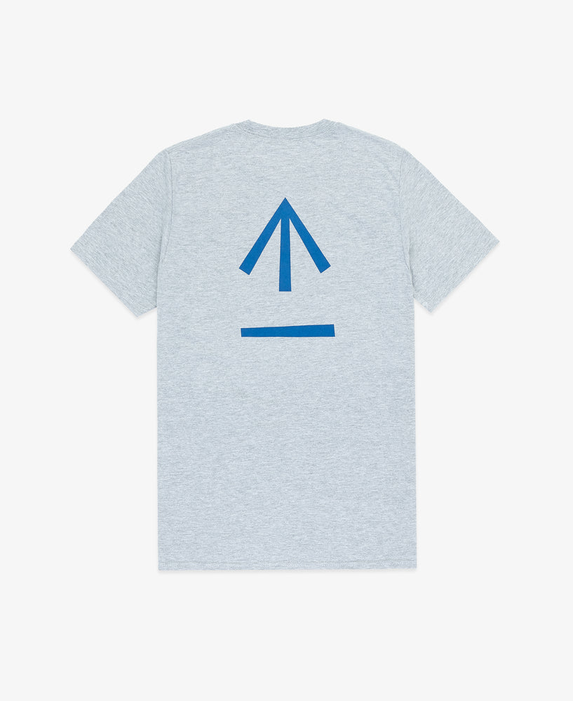 Arrow Graphic SS Tee  – Gray