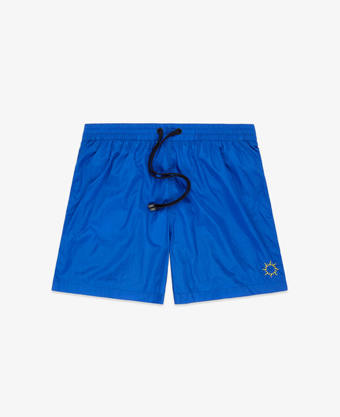 "Swimmer 7"" Sun Embroidery – Blue"