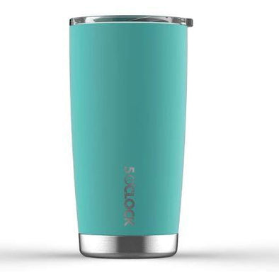 5 O'CLOCK INSULATED TUMBLER - 590 ml - SEAFOAM GREEN
