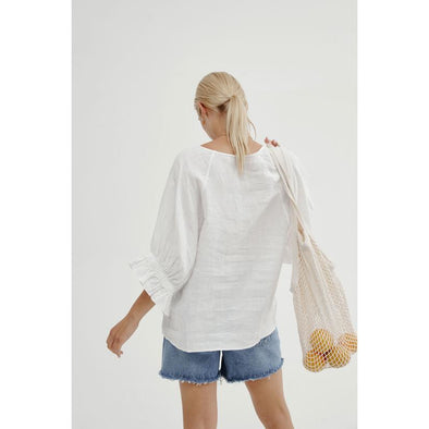 ABBEY TOP | WHITE