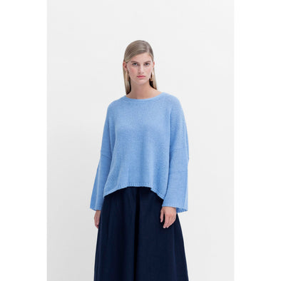 AGNA SWEATER | POWDER BLUE
