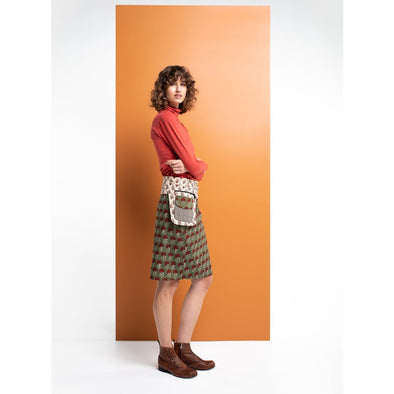 ROSANNA SKIRT LONG - SAGE FLOWER