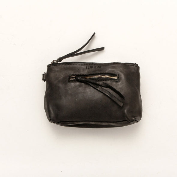 SMALL ESSENTIAL POUCH | BLACK