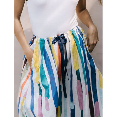 ELME SKIRT | PAINTED STRIPE